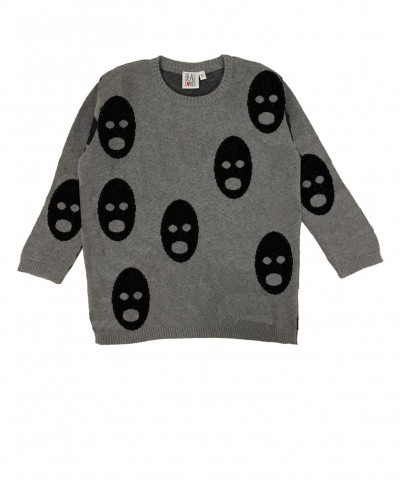 Sweter szary Ghosts