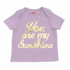 T-shirt You Are My Sunshine wrzosowy