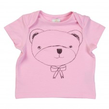 T-shirt Teddy Bear różowy