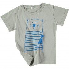 T-shirt Cat szary