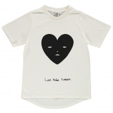T-shirt kremowy Heart